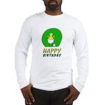 Canary NCFC Happy Birthday Long Sleeve T-Shirt