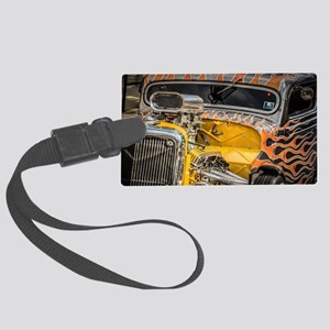 Flamed Beast Large Luggage Tag