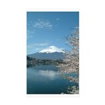 Mt.Fuji And Sakura Sticker