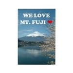 We Love Mt. Fuji Magnets