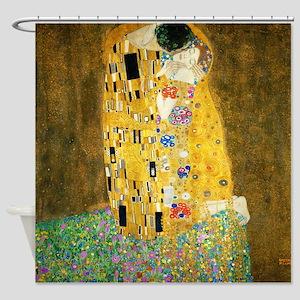 Gustav Klimt The Kiss Shower Curtain
