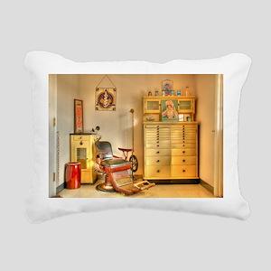 Vintage Dental Office Rectangular Canvas Pillow
