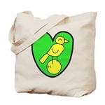 NCFC Canary Heart Tote Bag