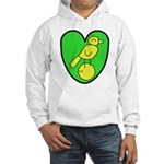 NCFC Canary Heart Sweatshirt
