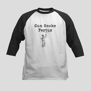 Gun Smoke Festus Baseball Jersey