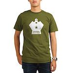 Big Star King Organic Men's T-Shirt (Dark)