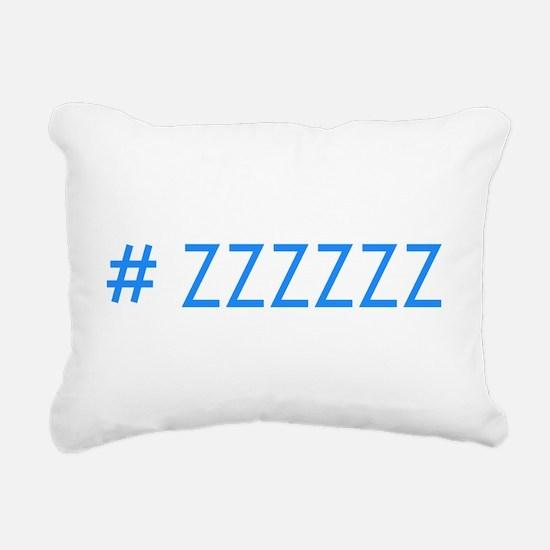Hashtag Rectangular Canvas Pillow