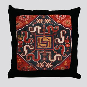 Cloudband Rug Medallion Throw Pillow