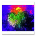 Blooming nebula Square Car Magnet 3
