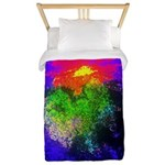 Blooming nebula Twin Duvet