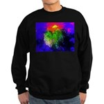 Blooming nebula Sweatshirt