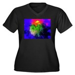 Blooming nebula Plus Size T-Shirt
