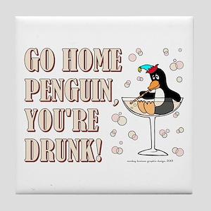 GO HOME... Tile Coaster