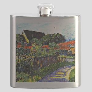 Jawlensky - Farmhouse Garden painting Flask