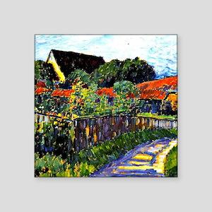 "Jawlensky - Farmhouse Garde Square Sticker 3"" x 3"""