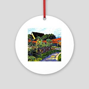 Jawlensky - Farmhouse Garden painti Round Ornament
