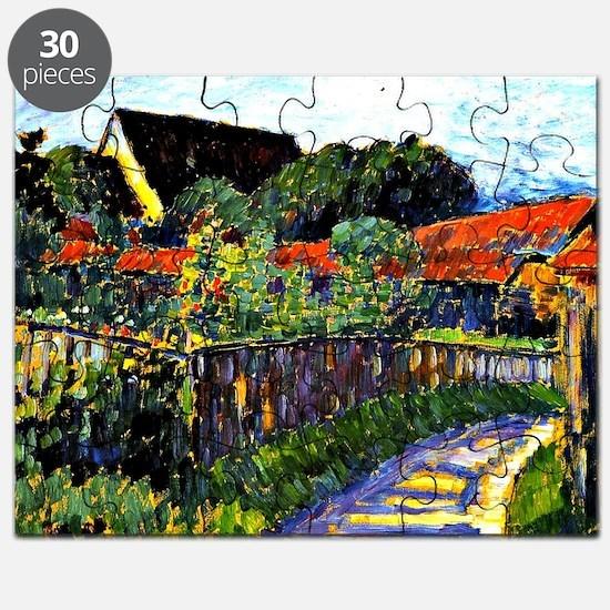Jawlensky - Farmhouse Garden painting Puzzle