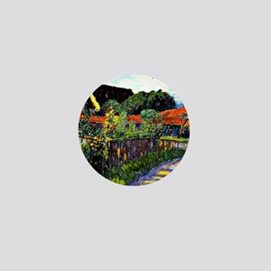Jawlensky - Farmhouse Garden painting Mini Button