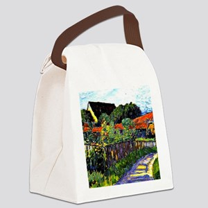 Jawlensky - Farmhouse Garden pain Canvas Lunch Bag