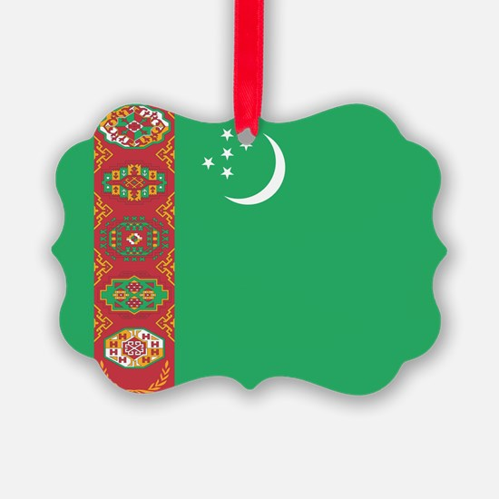 Turkmenistan Flag Ornament