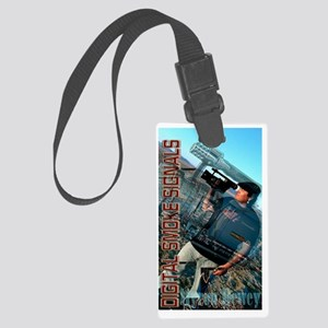 Social Media & Film Large Luggage Tag