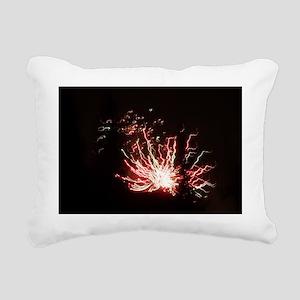 Sylvester Firework Rectangular Canvas Pillow