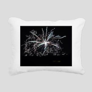 Sylvester Firework Art Rectangular Canvas Pillow