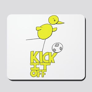NCFC Canary Kick It Off Mousepad