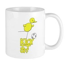 NCFC Canary Kick It Off Mugs