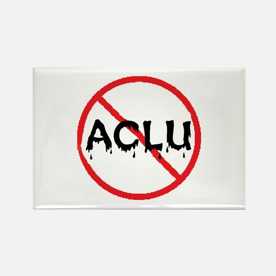 STOP ACLU Rectangle Magnet