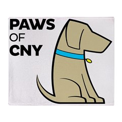 PAWS of CNY Throw Blanket