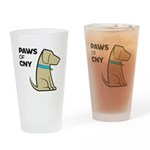 PAWS of CNY Drinking Glass