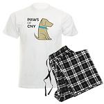 PAWS of CNY Men's Light Pajamas