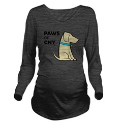 PAWS of CNY Long Sleeve Maternity T-Shirt