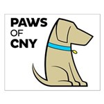 PAWS of CNY Small Poster