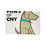 PAWS of CNY Rectangle Magnet (100 pack)