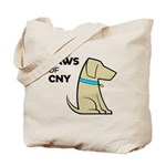 PAWS of CNY Tote Bag