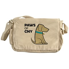 PAWS of CNY Messenger Bag