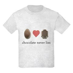 Chocolate Never Lies T-Shirt