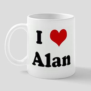 I Love Alan Mug