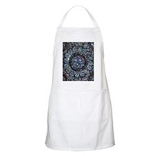 Beaded Sequin Flowers Photo Apron