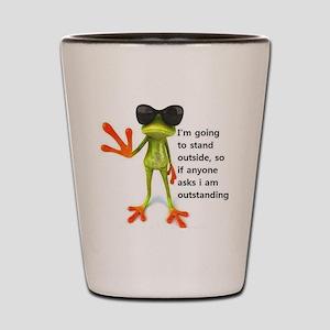 Outstanding Frog Shot Glass