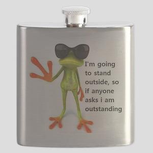 Outstanding Frog Flask