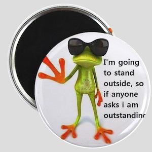 Outstanding Frog Magnet