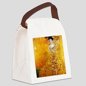 Gustav Klimt Portrait of Adele Bl Canvas Lunch Bag