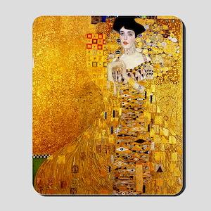 Gustav Klimt Portrait of Adele Bloch-Bau Mousepad