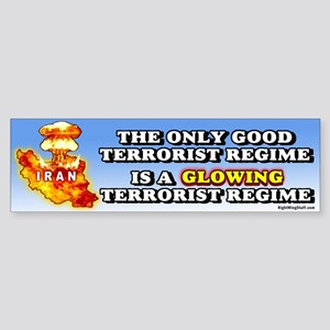 A Glowing Terrorist Regime Bumper Sticker