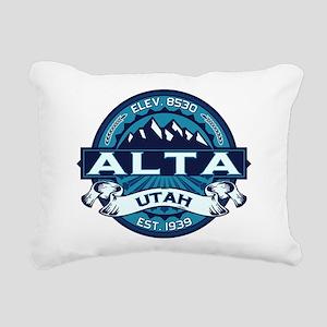 Alta Ice Rectangular Canvas Pillow
