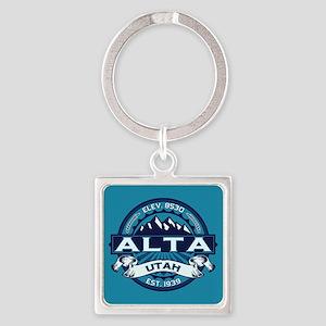 Alta Ice Square Keychain