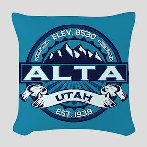 Alta Ice Woven Throw Pillow